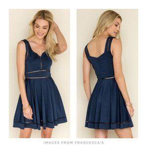 Annabella ▪ Francesca's Leo Crochet Cut Out Dress
